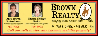 Call our cells to view any Laramie multitist property!