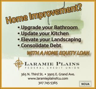 Home Improvement?