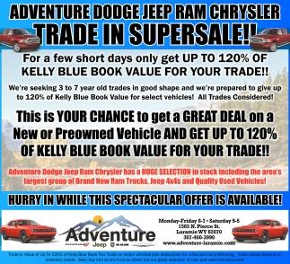 in supersale!!, Adventure Dodge Jeep RAM Chrysler, Laramie, WY