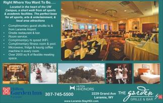 the garden grille and bar hilton garden inn - Hilton Garden Inn Laramie