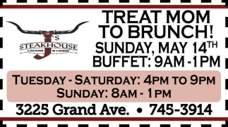 Treat Mom to Brunch!