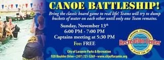 Canoe Battleship!