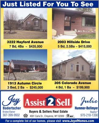 Just Listed for You to See