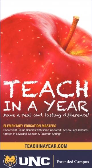 Teach in a Year
