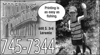 Printing is as easy as fishing