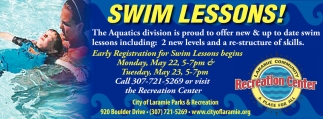 Swim Lessons!