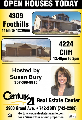 Open Houses Today