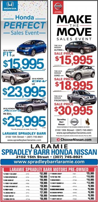 Laramie Spradley Bar Honda Nissan