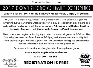 2017 Down Syndrome Family Conference