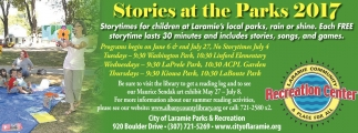 Stories at the Parks 2017