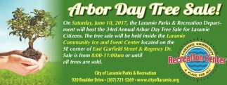 Arbor Day Tree Sale!