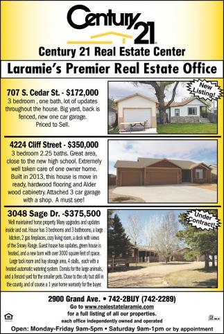 Laramie's Premier Real Estate Office