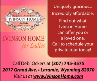 Ivinson Home for Ladies