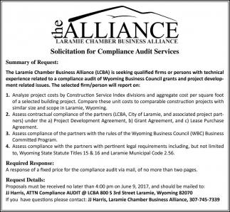 Laramie Chamber Business Alliance