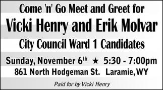Vote for Vicki Henry
