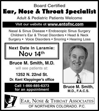 Bruce M. Smith, M.D.