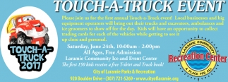 Touch-a-truck event!
