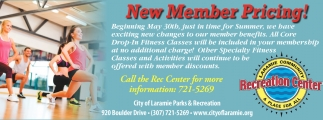 New Member Pricing!