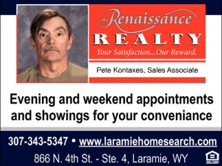 Evening and Weekend Appointments and Showings for Your Conveniance
