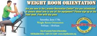 Weight Room Orientation