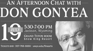 An Afternoon Chat with Don Gonyea
