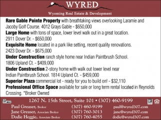 Wyoming Real Estate and Development