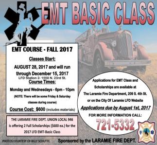 EMT Basic Class