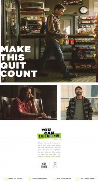 Make this quit count