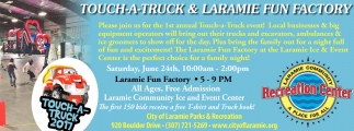 Touch-a-truck and laramie fun factory!