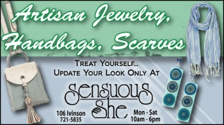 Artisan Jewelry, Handbags, Scarves