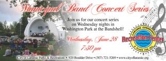 Municipal Band Concert Series