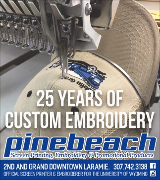 25 years of custom embroidery