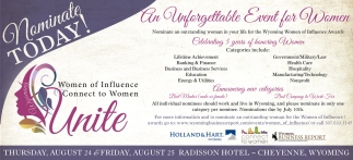 An Unforgettable Event for Women