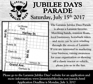 Jubilee Days Parade