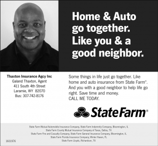 Home and Auto go together