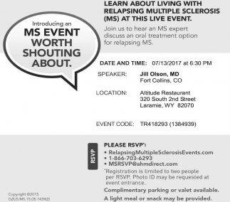 MS Event Worth Shouting About