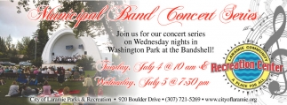 Municipal Band Concert Series