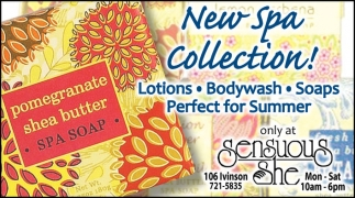 New Spa Collection!
