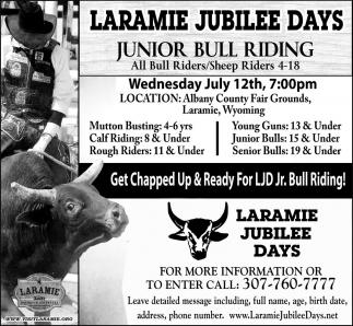 Junior Bull Riding