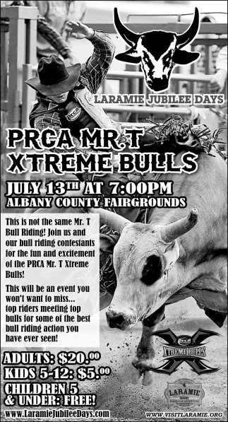 PRCA MR.T Xtreme Bulls