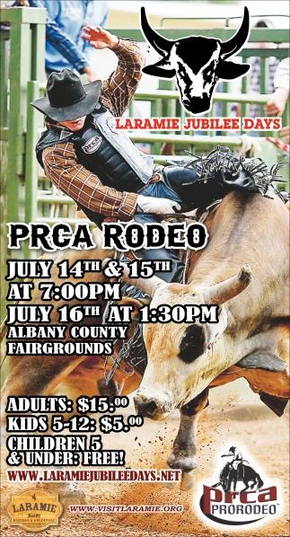 PRCA Rodeoo