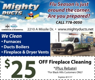 $25 Off Fireplace Cleaning