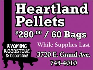 Heartland Pallets $280.00 / 60 Bags