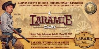 Laramie That's WY