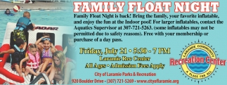 Family Float Night!