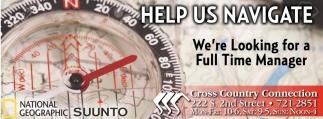 Help us navigate