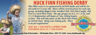 Huck Finn Fishing Derby