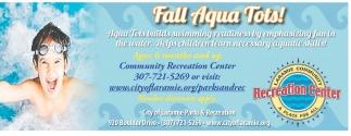 Fall Agua Tots!