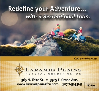 Redefine Your Adventure... Whit A Recreational Loan.