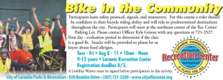 Bike In The Community